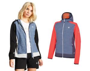 Dare2b Women's Duality II Lightweight Breathable Softshell Jacket Blacl/Grey 20