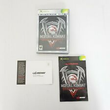 Midway Xbox 360 Mortal Combat: Deadly Alliance Rated M 17+ Fighting Video Game