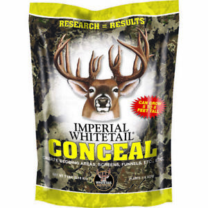 Whitetail Institute Conceal Game Deer Seed Food Plot Tall Growing 7 lbs. NEW