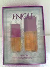 NIB ENJOLI PERFUME BOX SET BY REVLON  RARE AND OUT OF PRINT FRESH FULL BOTTLES