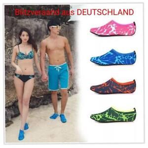 Tauchen Aqua Haut Socken Wasserschuhe Badeschuhe Schwimmschuhe Yoga 4 Farben
