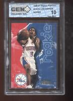 Allen Iverson RC 1996-97 Skybox Premium #216 76ers Rookie GEM MINt 10