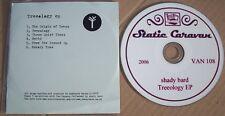 SHADY BARD TREEOLOGY EP Static Caravan PROMO SCARCE CD Indie Britpop Shoegazer
