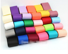 "1"" 25mm Grosgrain Ribbon 21 Colors Mixed Set for Baby's Hair Bows Making"