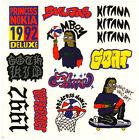 PRINCESS NOKIA 1992 Deluxe Ltd Ed RARE Stickers Lot +FREE Hip Hop Rap Stickers!
