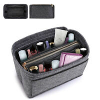 Felt Fabric Purse Handbag Organizer Multi Pocket Insert Bag For Speedy Neverfull