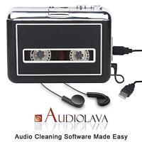Cassette Player Portable Convert Cassette Tape to Digital MP3 Converter