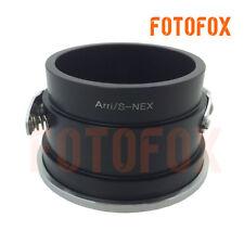 Arriflex Arri S mount lens to Sony E NEX adapter NEX-5 6C3 5T VG900 A5000