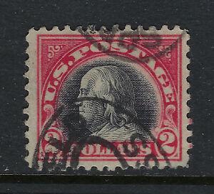 SCOTT 547 1920 $5 FRANKLIN REGULAR ISSUE USED VF CAT $40!