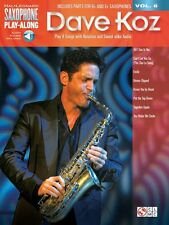 Dave Koz Saxophone Play-Along Book Audio Online NEW 000118292