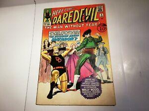 DAREDEVIL  #5 SILVER AGE MARVEL COMICS 1964 1st appearance Matador