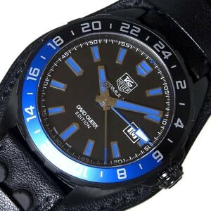 Free Shipping Pre-owned TAG HEUER Formula 1 David Guetta Limited WAZ201A.FC8195