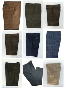 Last Chance Men's Clearance Tweed Trousers