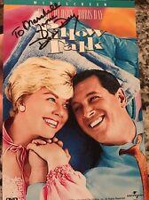 Doris Day Pillow Talk Dvd Cover  SIGNED PSA PSA/DNA COA
