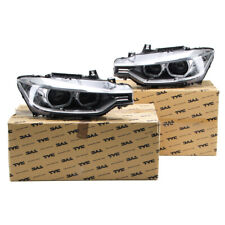 2x TYC Hauptscheinwerfer + Stellmotor D1S LED für BMW 3er F30 F31 links + rechts