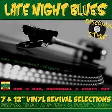 LATE NIGHT BLUES REGGAE REVIVAL MIX CD