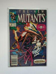 The New Mutants #74 April 1989 (1982 Series) Marvel Comics X-terminators