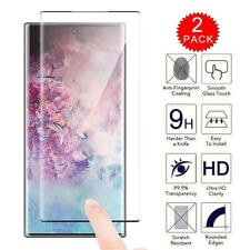 For Samsung Galaxy Note 10 Plus 6D Case Friendly Tempered Galss Screen Protector