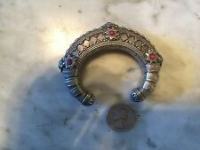 antique tribal ethnic bedouin afghan moroccan belly dance sterling bracelet
