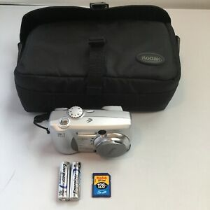 Kodak EasyShare DX4330 Silver 3.1 MegaPixels Digital Camera W Zoom, Case, & Card