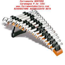 Serie set 15 chiavi Beta Tools 42/SP15 combinate forchetta poligonali supporto