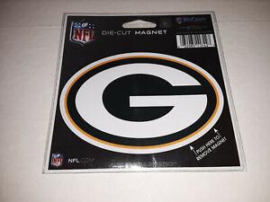 "Green Bay Packers Die Cut Magnet Decal 5"" x 3.5"""