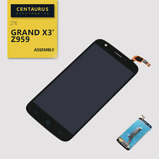 For ZTE Grand X3 Z959 Assembly Touch Screen Digitizer Lcd Display Black