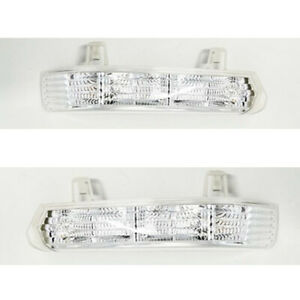 2X For Buick Lacrosse 2005-08 Front Left+Right Rearview Mirror Signal Turn Light