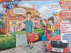 WHAT IF? NO.17 ESCAPE TO THE SEASIDE 1000 PIECE RAVENSBURGER JIGSAW USED