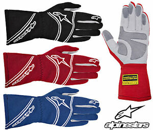 Alpinestars Tech 1 Start Race Gloves, FIA Approved, Nomex, Oval Racing, Rally