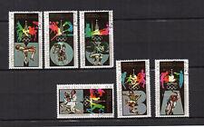 J.O.  Moscou REPUBLIQUE CENTRAFRICAINE 1979 6 timbres oblitérés /T4119