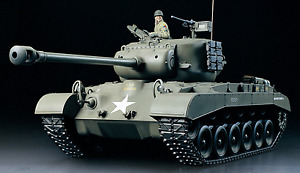 Tamiya 1/16 RC American tank M26 Pershing FULL OPTION COMPLETE KIT 56015