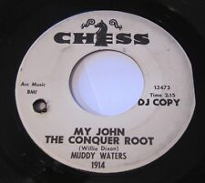 Muddy Waters - My John The Conquer Root/Short Dress Woman 45 Chess Promo wlp