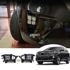 2019-2020  For KIA Sorento L/LX EX LED LED Front Bumper Fog Light Assembly Kit
