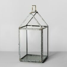 New House Large Lantern Hearth & Hand with Magnolia Galvanized Finish