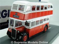 CROSSLEY DD42 STOCKPORT bus OM41609A CROSSLEY RD 1:76 CORGI ORIGINAL OMNIBUS TZ