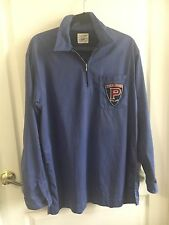 Rare Vtg 90's Polo Sport Ralph Lauren Rugby Patch Lo Heads/Life Long Sleeve Zip