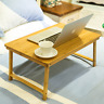 BAMBOO Folding Table study in Bed laptop stand handy solid multiple use 懒人 床用学习桌