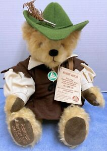 Hermann Robin Hood Sherwood Forest Series Teddy Bear American Ltd. Ed. 87/500