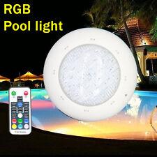 pool underwater led light spa lamp bulb 12V DC/AC 24W 36W RGB + remote control