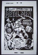 Original Production Art METAL MEN #27 cover, ROSS ANDRU, MIKE ESPOSITO art