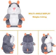 Cheeky Talking Hamster Repeats What You Say Electronic Plush Toy Christmas Gift