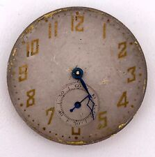 Machinery Vintage Hand Manual Pocket Watch Pocket 39 mm Non Working 3WC