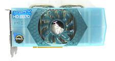 HD 6870 IceQ X HIS Computer Graphics Card GDDR5 DVI Hdmi Pci e Blue