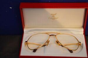 Cartier Paris Brille mit Etui 80 er Jahre