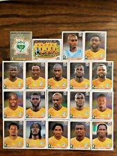 IVORY COAST COTE D'IVOIRE TEAM 19 PANINI STICKER W C SOUTH AFRICA 2010 #AFRICA27