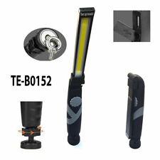 LAMPADA TORCIA LAVORO CALAMITA PORTATILE RICARICABILE USB SLIM LED COB B0152 SC0