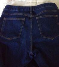 Gap 1969 PERFECT BOOT DARK Denim Blue Jeans Women's Size 30r Size 10 5 Pockets