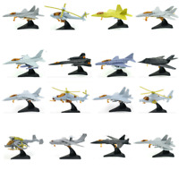 12cm Fighter Helicopter Assembly Model Figure Action 4D 1:165 Scale