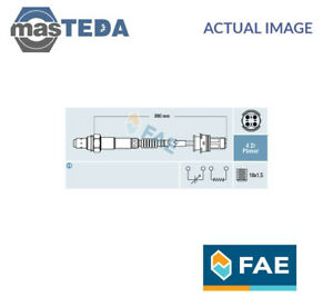 FAE IN FRONT OF THE CATALYST LAMBDA OXYGEN O2 SENSOR 77270 P NEW OE REPLACEMENT